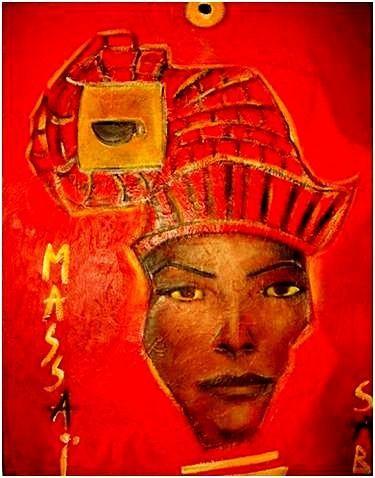 Sylvia Adjabroux - Massaï