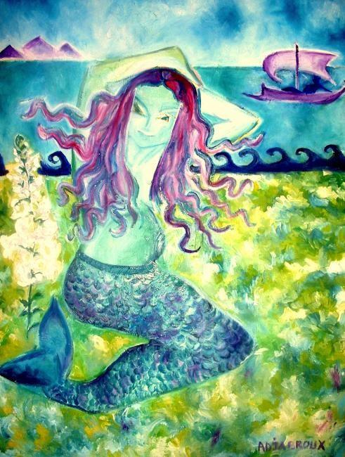 Sylvia Adjabroux - La Petite Sirène d'Andersen