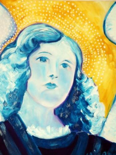Peinture, huile, œuvre d'art par Sylvia Adjabroux