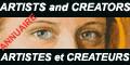 Site consacré aux Arts :Artistes des Beaux-arts, les Arts du temps, la Littérature et les Créateurs